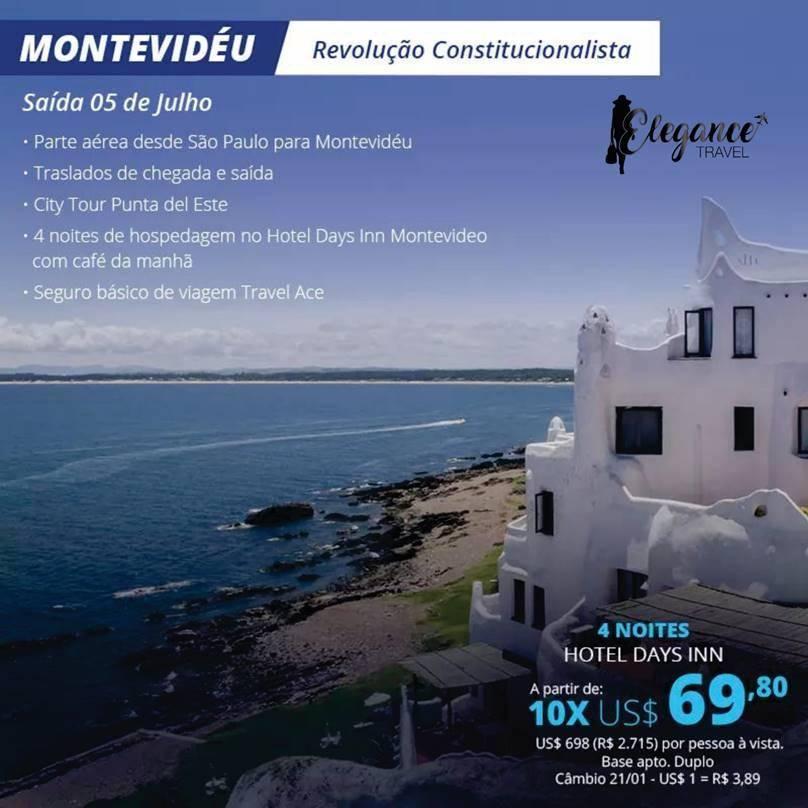 Viagem para MonteVidéu